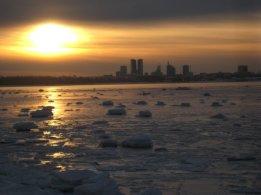 Tramonto su Tallinn