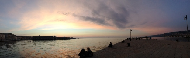 Tramonto_Trieste