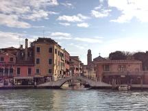 Venezia dal piazzale della Stazione
