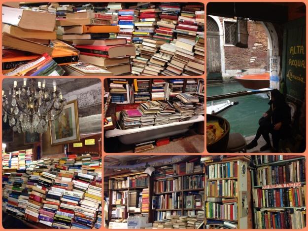 La libreria Acqua Alta: libri, libri e ancora libri (un po' umidicci)