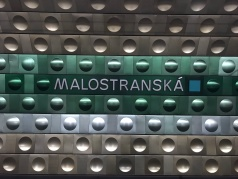 Stazione della metropolitana, Malostranska