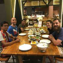 Padang-style dinner
