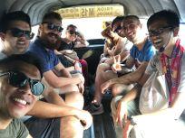 Angkot ride